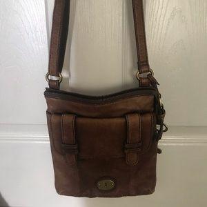 Vintage Genuine Leather Fossil Bag